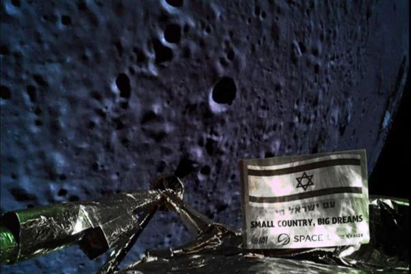 一步之遥! 以色列航天器最后时刻坠毁