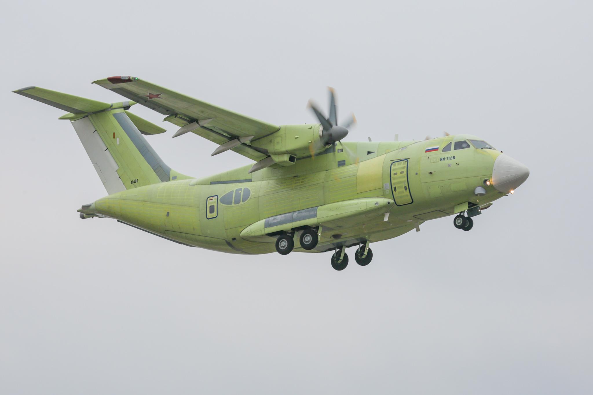 俄罗斯国家技术集团研发俄首款运输机伊尔-112V