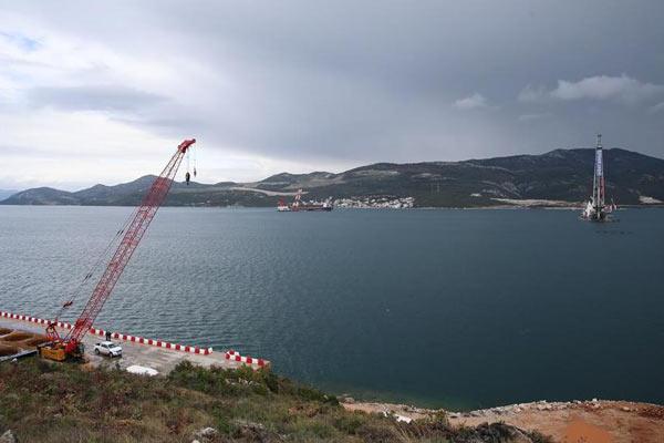 中国企业中标承建的克罗地亚佩列沙茨大桥项目进展顺利