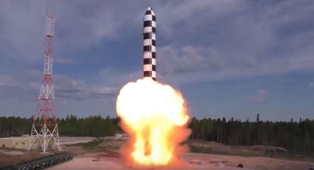 普京透露萨尔马特导弹测试工作已经进入尾声