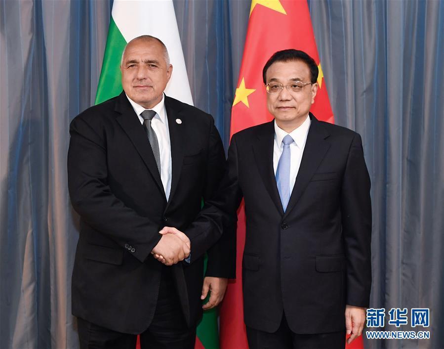 李克强会见保加利亚总理鲍里索夫