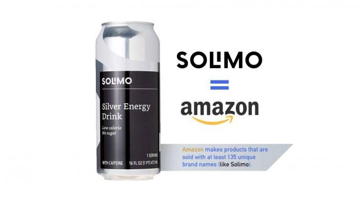 亚马逊能源饮料预示着市场范围内的自有品牌趋势
