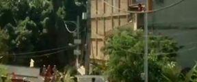 巴西里约两座建筑坍塌已致5死9伤