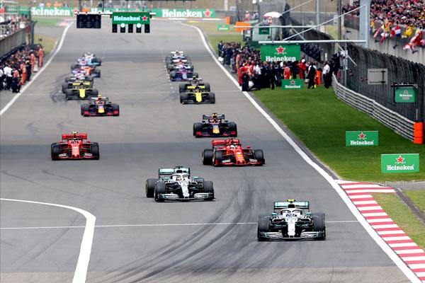 第1000场F1大奖赛落幕 梅赛德斯车队成最大赢家