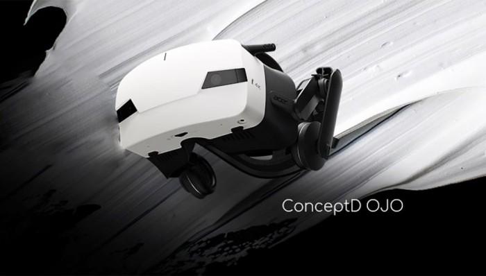 宏碁展示自家高端VR头显设备ConceptD OJO