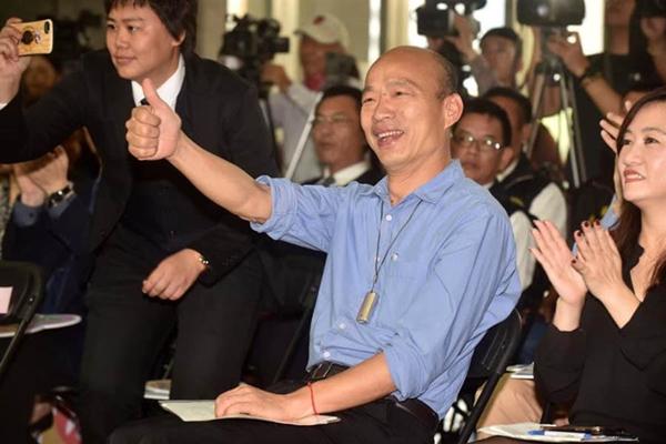 若韩国瑜竞选2020 侨胞:包机回去投票