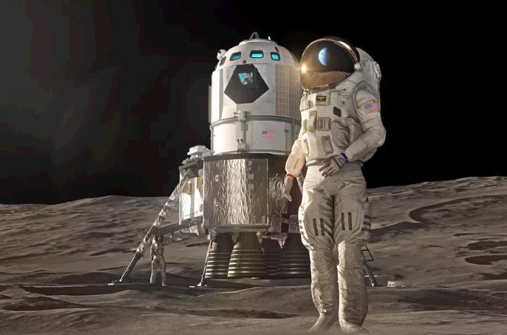 洛克希德馬丁公布載人月球登陸器的新設計 將在5年內問世