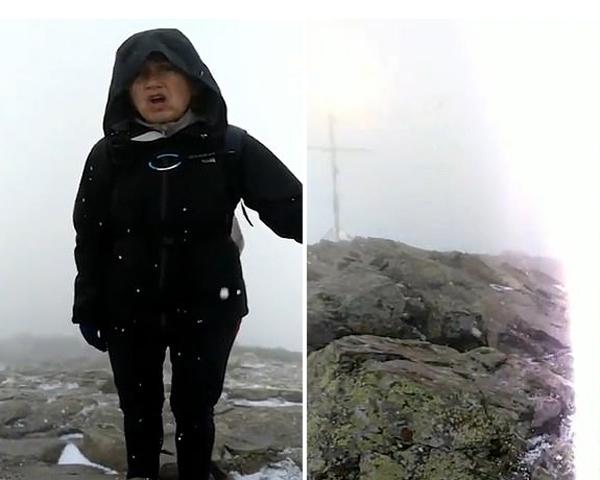 西班牙一夫妇在山顶险遭闪电袭击所幸毫发无损