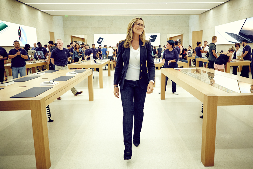 苹果零售部副总裁安吉拉•阿伦茨正式离开苹果公司