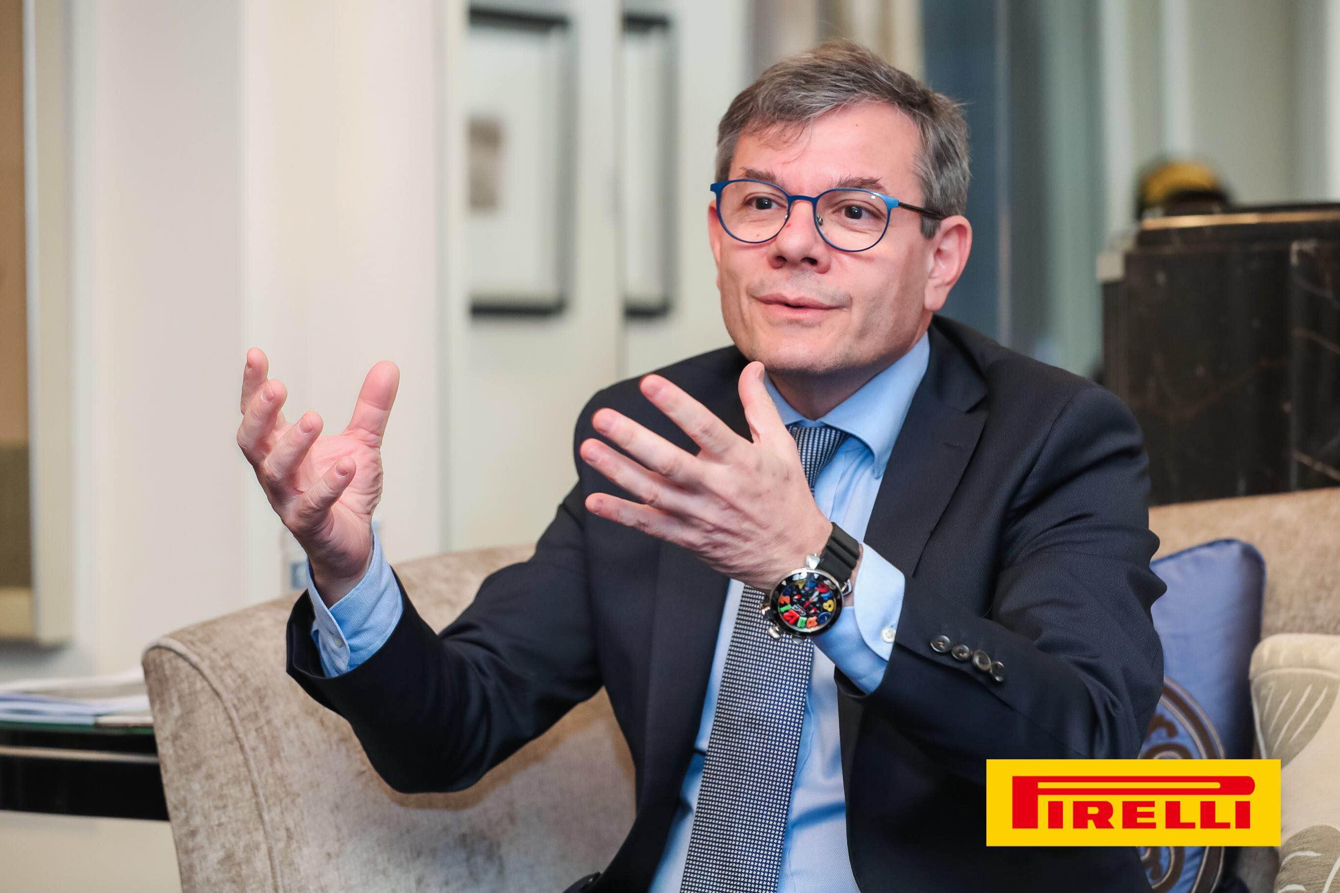 F1中国大奖赛 专访倍耐力亚太区CEO