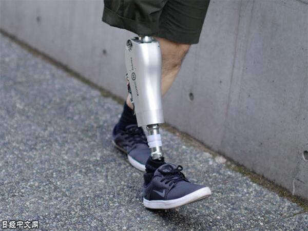 源自日本东大的初创企业开发出电动假腿