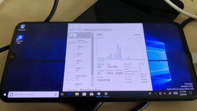 日媒:安卓手机移植Win10后或能玩电脑游戏