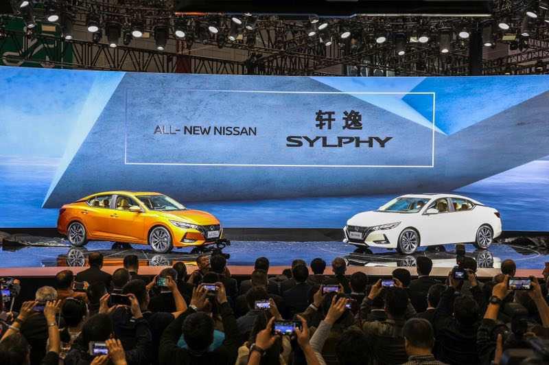 第14代日产轩逸上海车展全球首发亮相