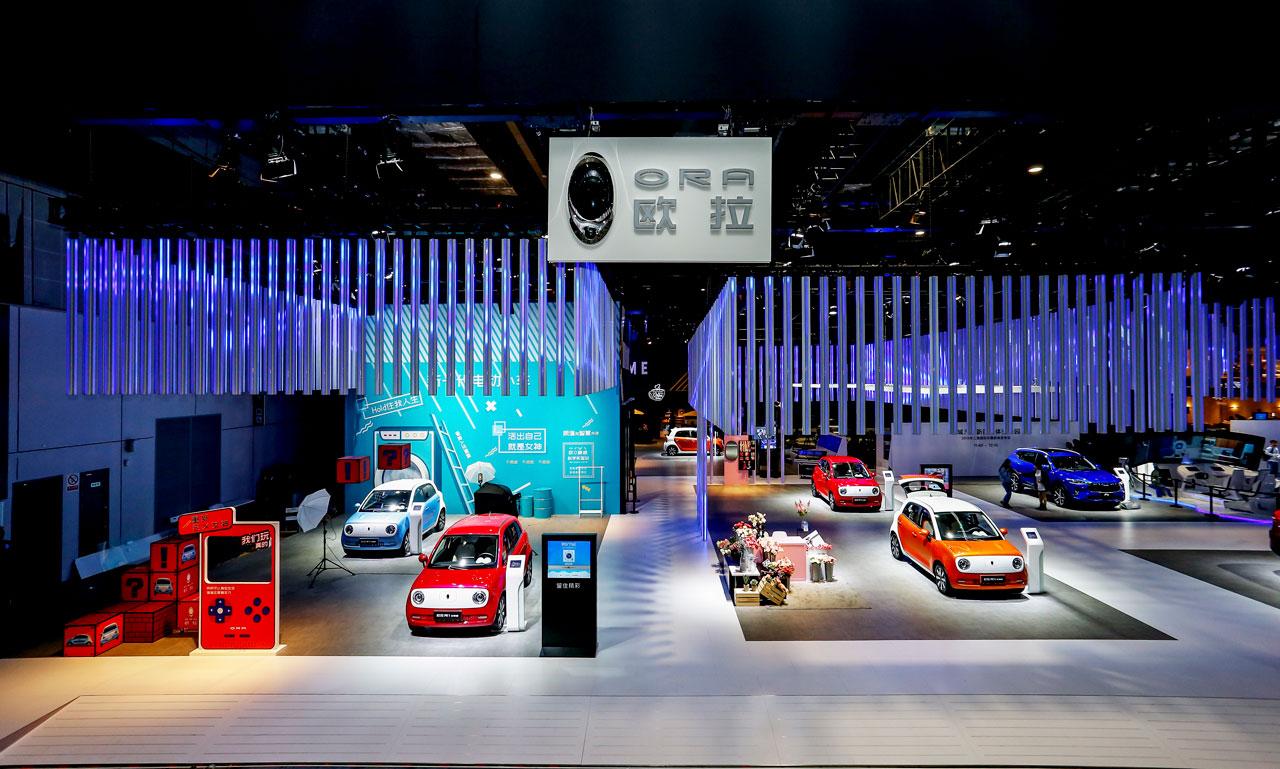 欧拉R1亮相上海车展 具备自动驾驶技术