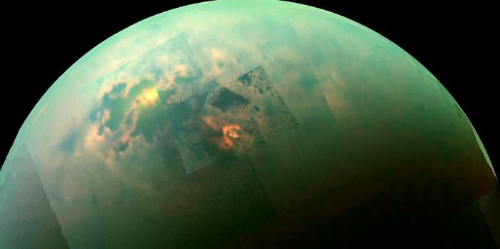 """土卫六引科学家们关注 """"幻影湖泊""""不再神秘"""