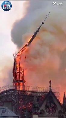 法国首都是_巴黎圣母院大火后,内部竟成这样了_国际新闻_环球网