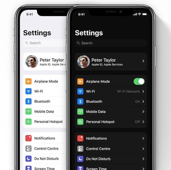 苹果iOS 13曝光:新增黑暗模式、窗口多任务
