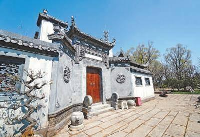 粉墙黛瓦 徽风古韵(北京世园会风采)