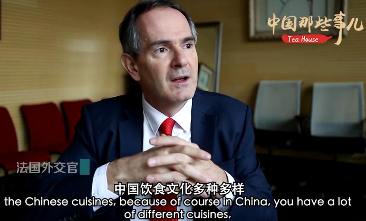 外国人:感受到了舌尖上的中国风味