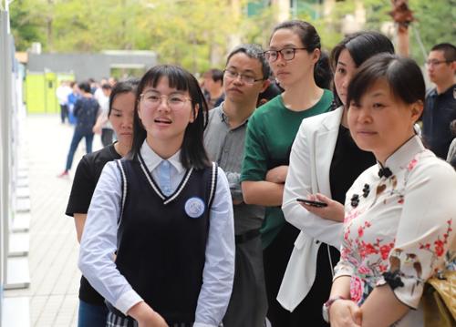 深圳明德实验学校高中部举办2019年首场市民开放日活动