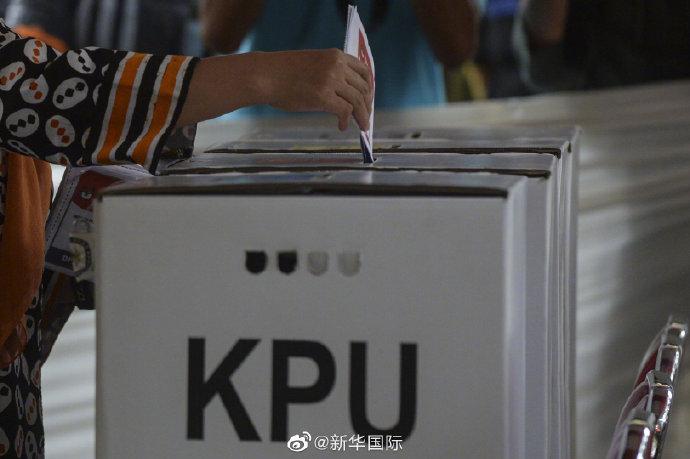 """印尼""""大选""""开始投票"""