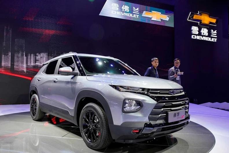 雪佛兰两款全新SUV亮相上海车展 专为中国市场定制