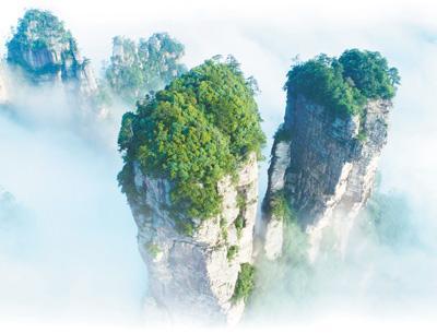 """第一个国家森林公园张家界:从种山林到种风景(新中国的""""第一""""70年)"""
