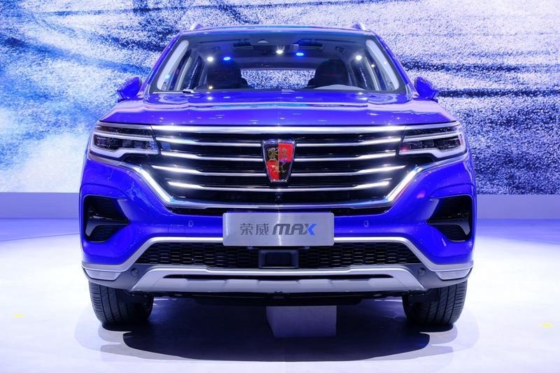 荣威MAX上海车展发布 定位于RX5与荣威RX8之间