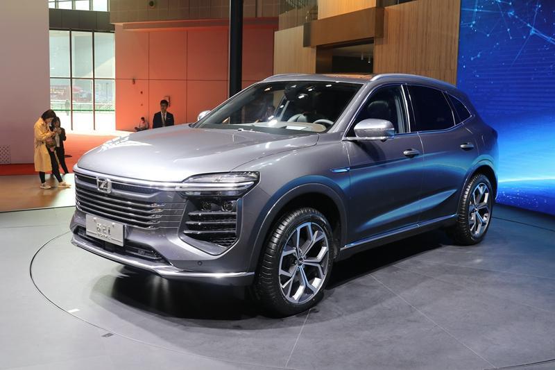 众泰中型SUV上海车展发布 采用最新设计理念