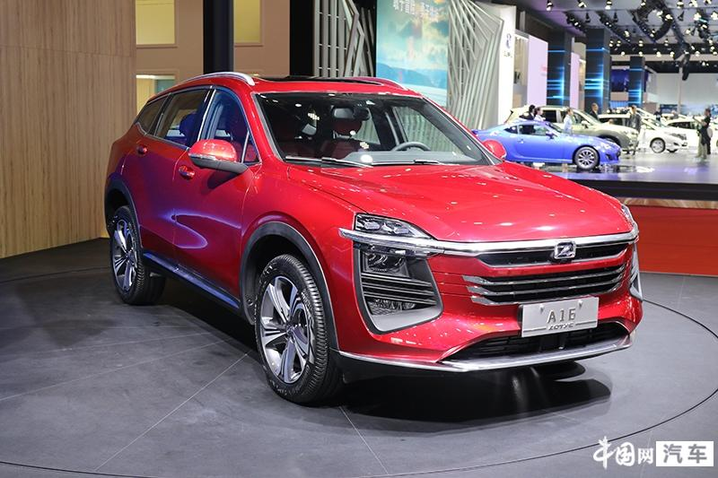 众泰全新紧凑SUV车型A16上海车展亮相