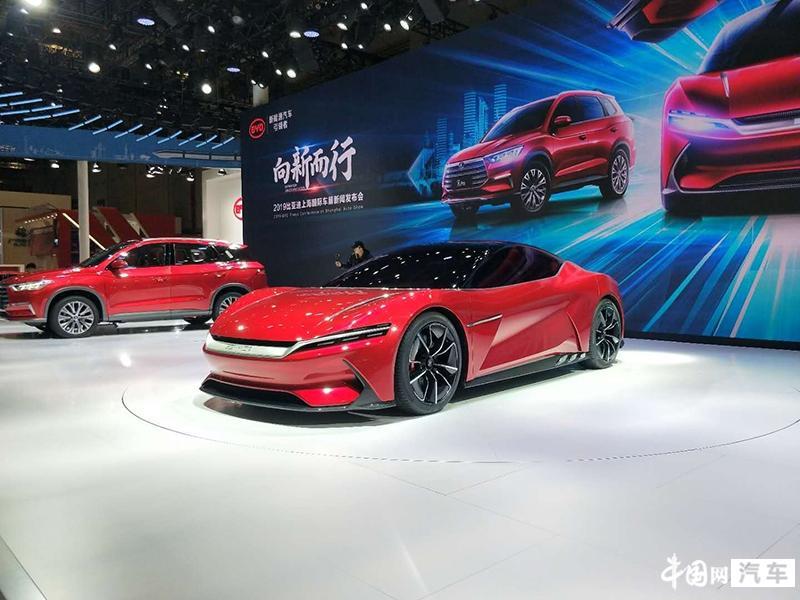 2019上海车展:比亚迪电动轿跑E-SEED GT正式亮相