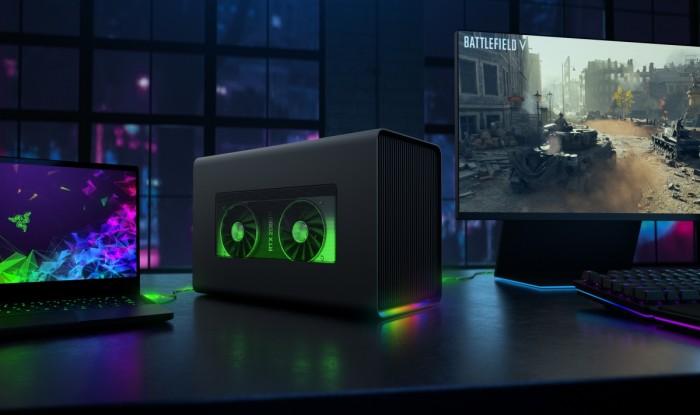 雷蛇发布全新Core X Chroma外接GPU扩展盒