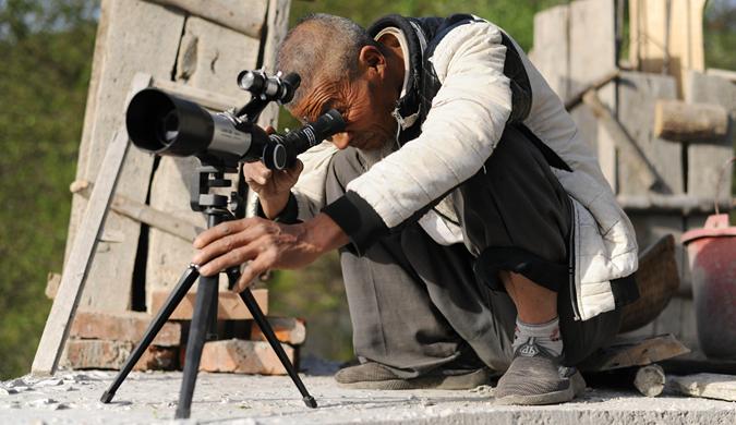 湖北一农民56年追寻天文梦 一座山村天文台将建成