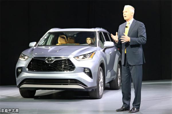 丰田在纽约国际车展发布新一代汉兰达