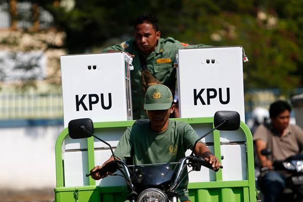 """印尼大选""""快速计票""""结果出炉 现总统佐科领先"""