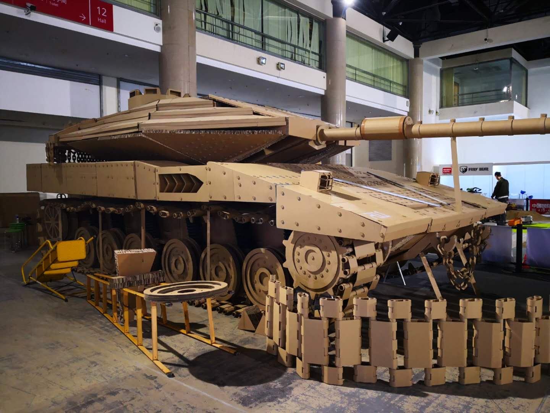 第20届中国国际模型博览会探馆 1:1坦克模型亮了