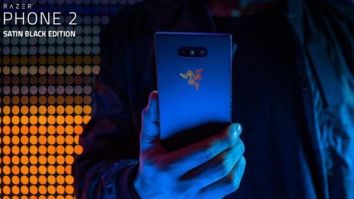 Satin Black版Razer Phone 2接受预订