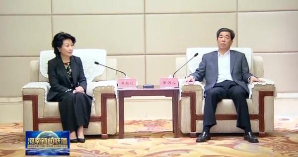 河南省委副书记、省长陈润儿会见秦商总会会长