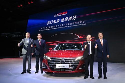 全新传祺GA6亮相上海车展 重塑自主品牌中高级轿车格局