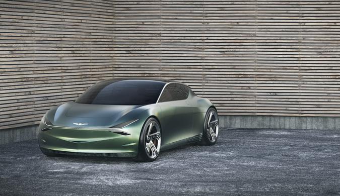 小巧华丽!Genesis发布全新纯电动概念车