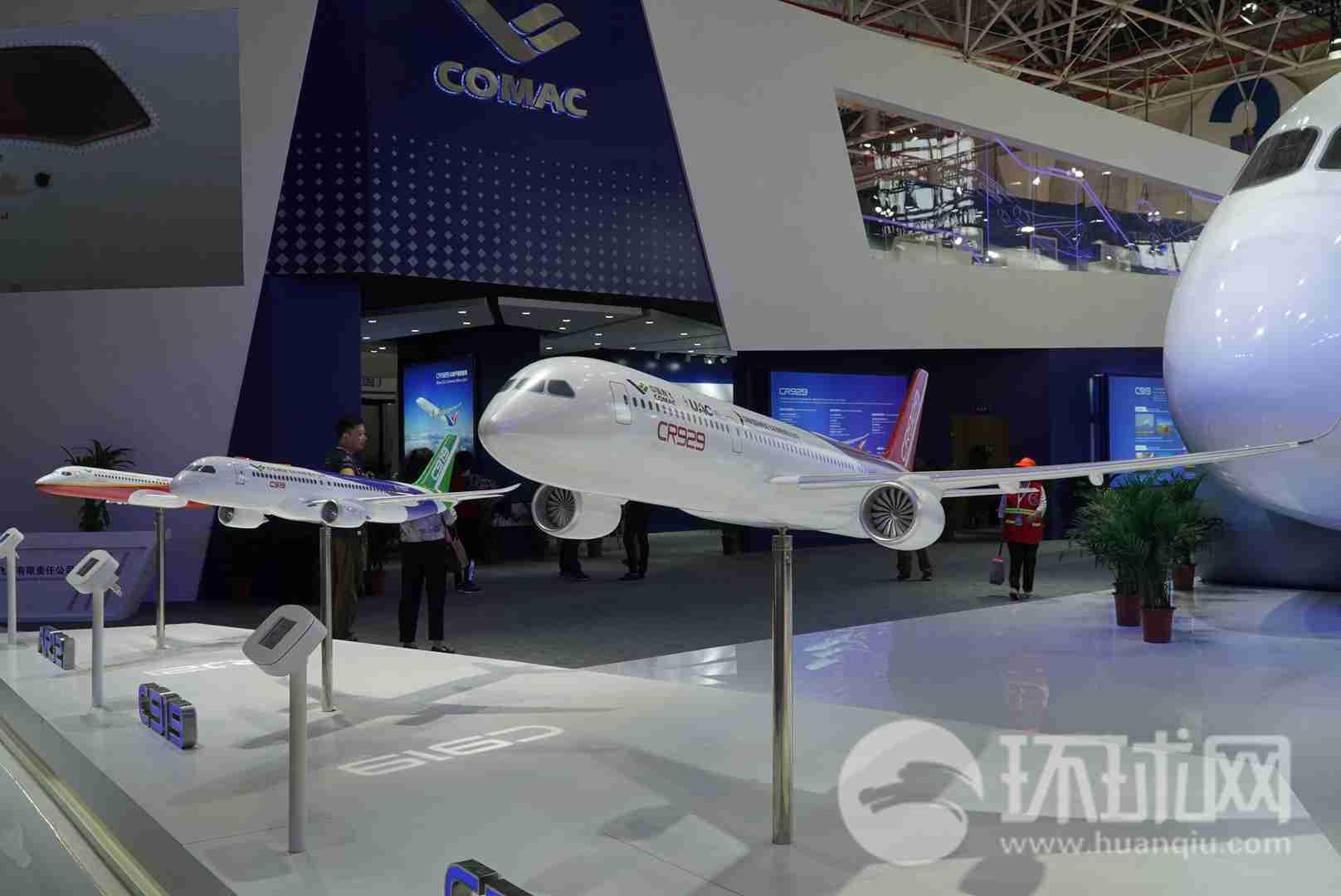 俄媒:中俄宽体客机CR929将亮相莫斯科航展