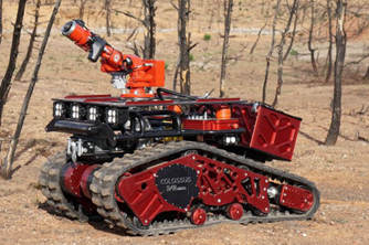 Colossus消防机器人帮助扑灭圣母院大火