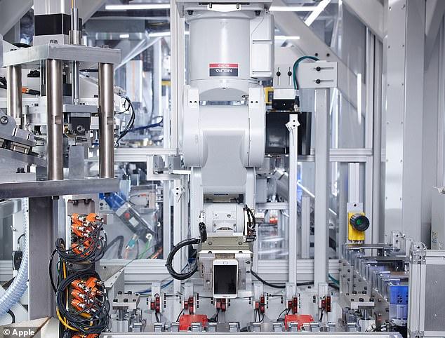 苹果公布新实验室:机器人已实现每年回收120万部iPhone