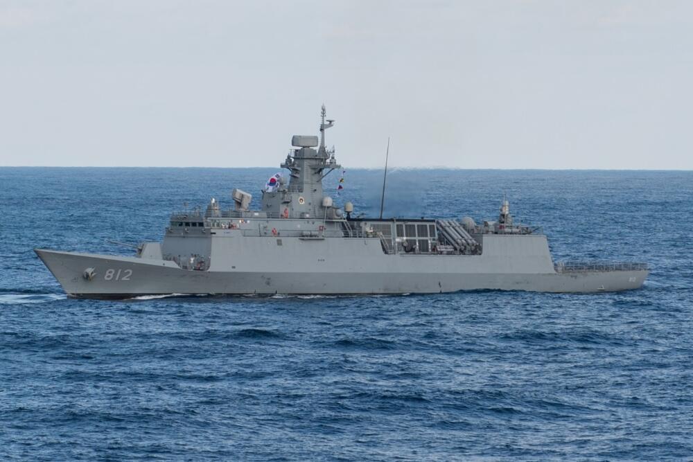 韩国确定参加中国海上阅兵 派出最新型护卫舰