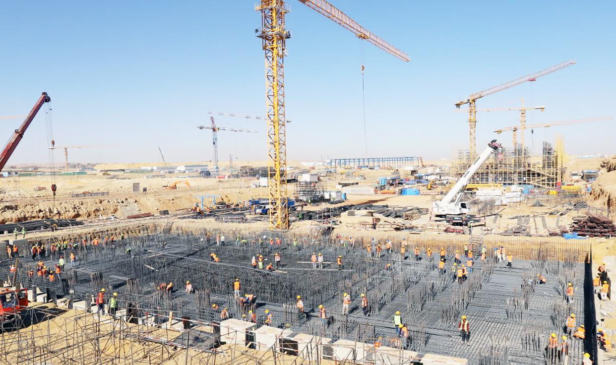 中国建造工艺入埃及记