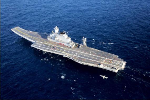 印法将在印度海域举行两国最大规模海军联演,双双出动航母