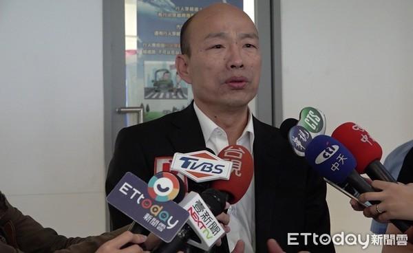 韩国瑜驳斥逼吴敦义征召 强调不表态支持任何人