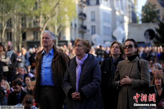 法举行圣母院重建祈愿仪式 巴黎市长呼吁民众团结