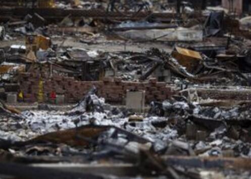 美国加州山火过后 当地水源遭致癌物质污染
