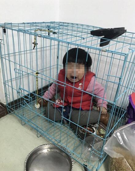 网传广东一男子虐童 警方:男子故意摆拍与前妻斗气